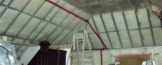 Steel Framing & Insulation
